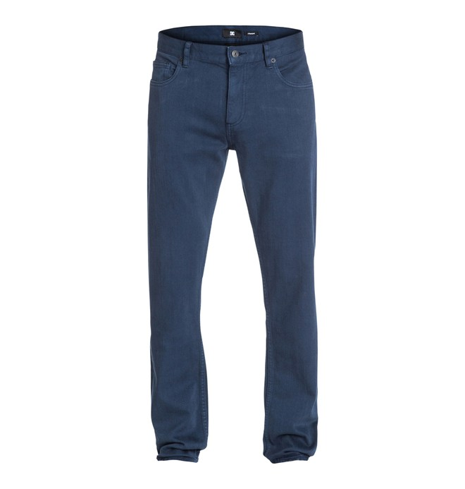 "0 Men's Worker Straight Color 32"" Inseam Jeans  EDYDP03005 DC Shoes"