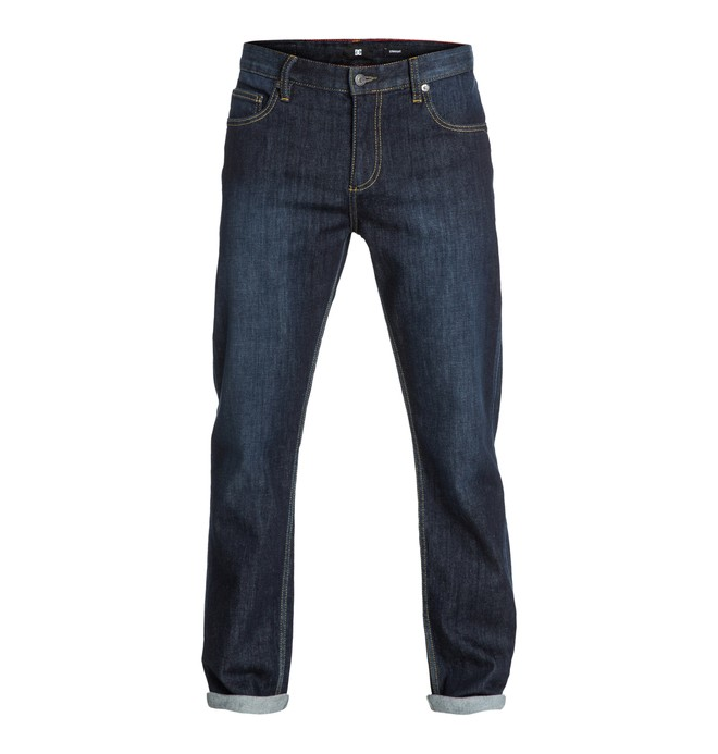 "0 Worker Straight Washed 32"" Inseam Jeans  EDYDP03010 DC Shoes"