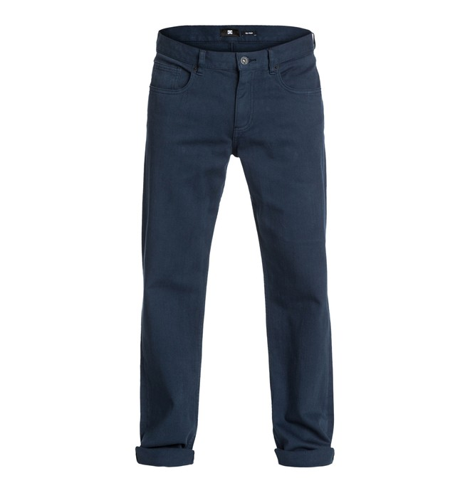 "0 Worker Relaxed Color 34"" Inseam Jeans  EDYDP03029 DC Shoes"