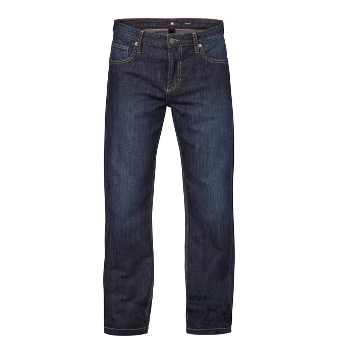 "0 Worker Relaxed Washed 34"" Inseam Jeans  EDYDP03031 DC Shoes"