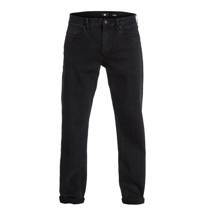 "0 Worker Relaxed Washed 30"" Inseam Jeans  EDYDP03032 DC Shoes"