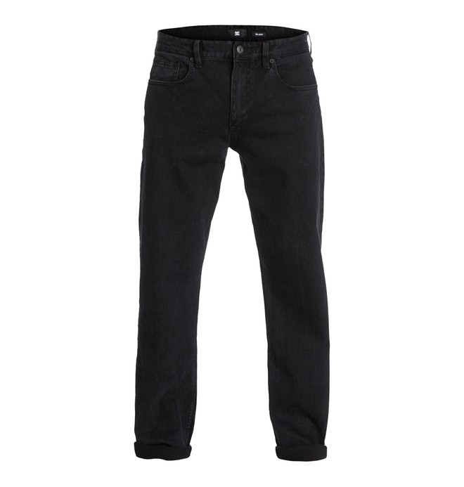 0 Worker Relaxed Dk Used Black 34  EDYDP03033 DC Shoes