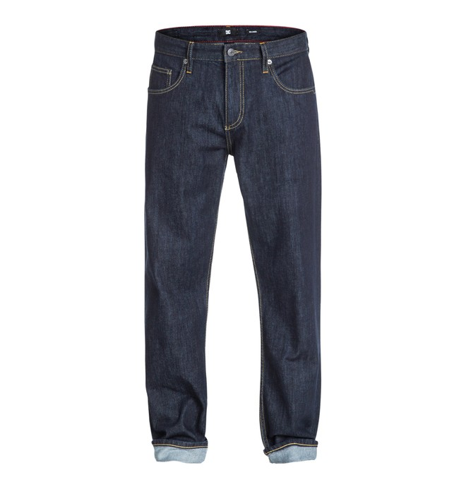 "0 Worker Relaxed 34"" Inseam Jeans  EDYDP03035 DC Shoes"