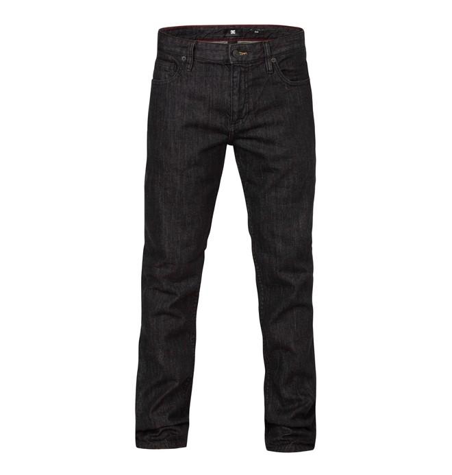 0 Worker Slim Black Rinse 34  EDYDP03040 DC Shoes