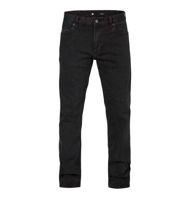 0 Worker Slim Dark Used Black 34  EDYDP03044 DC Shoes