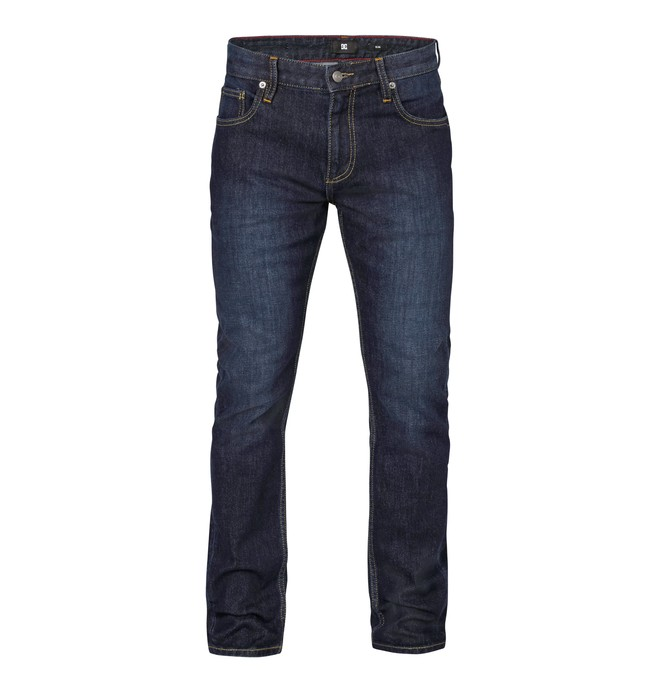 "0 Worker Slim Washed 34"" Inseam Jeans  EDYDP03046 DC Shoes"
