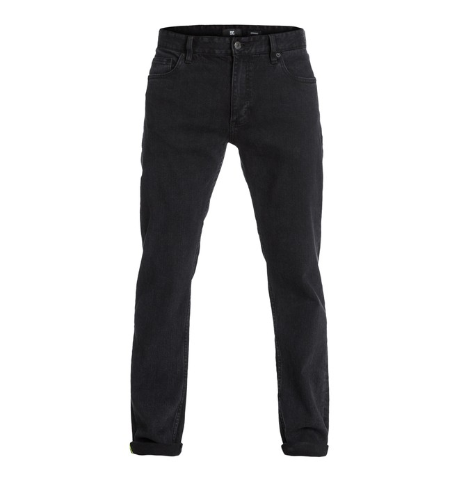"""0 Worker Straight Washed 30"""" Inseam Jeans  EDYDP03056 DC Shoes"""