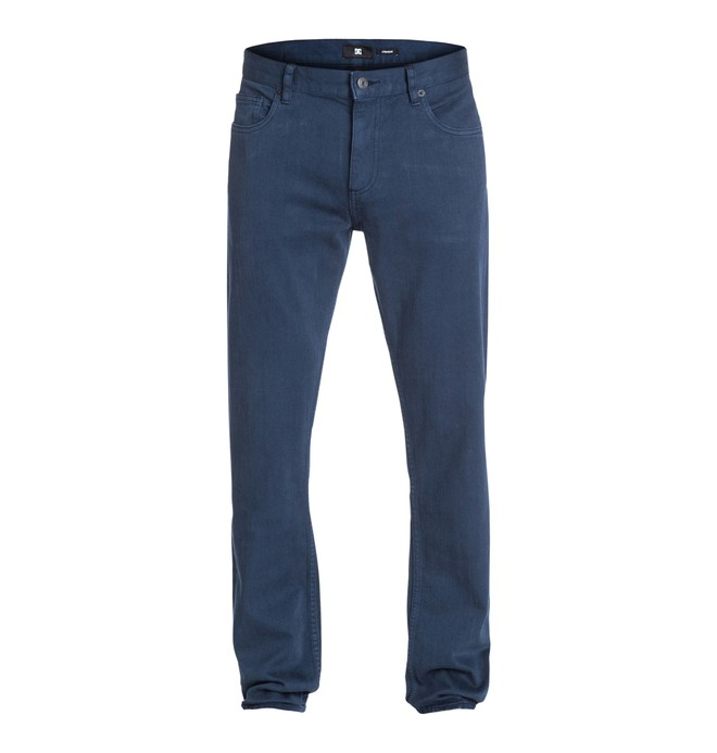 "0 Worker Straight Color 34"" Inseam Jeans  EDYDP03058 DC Shoes"