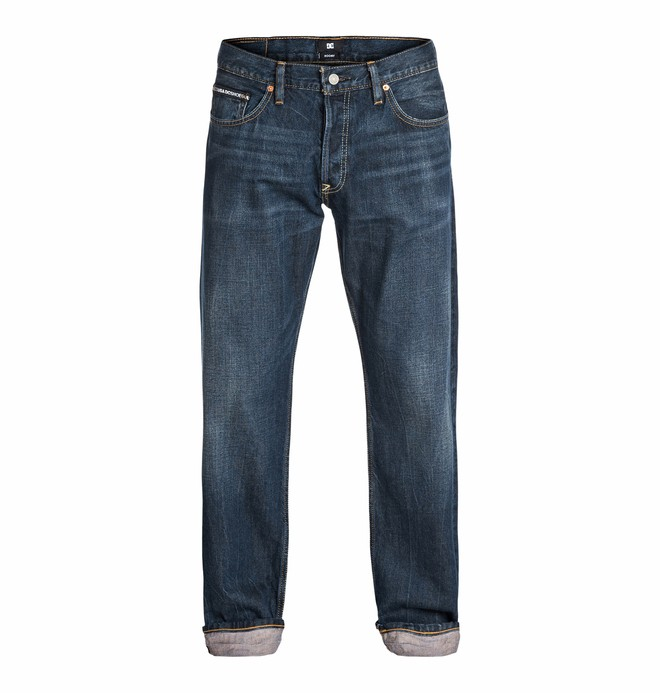 0 Worker Roomy Jean Light Stone 32  EDYDP03073 DC Shoes