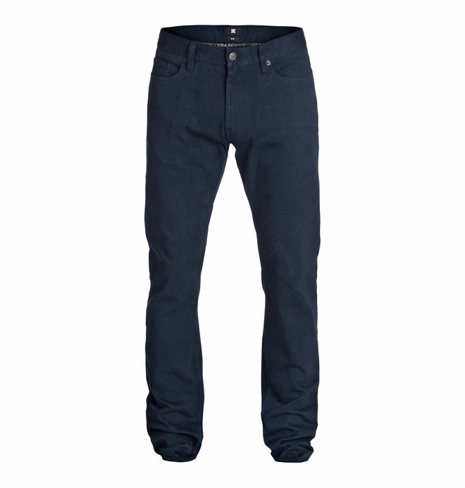 0 Men's Worker Elevated Color Slim Jean 32 Jeans  EDYDP03074 DC Shoes