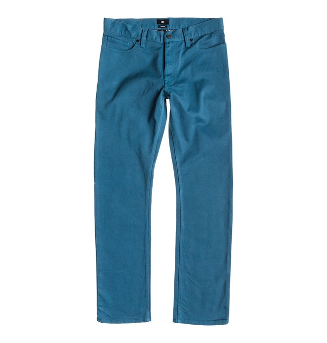 0 Worker Elevated Color Straight Jean 32  EDYDP03075 DC Shoes