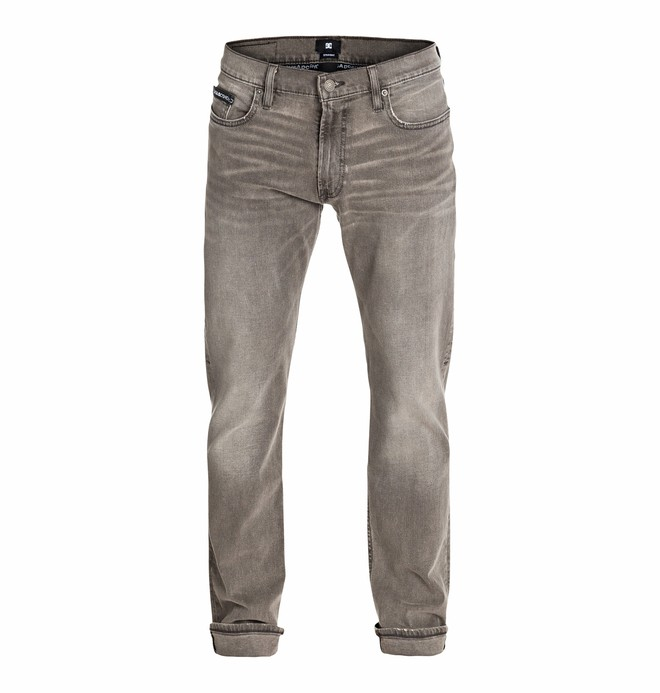 0 Men's Worker Straight Jean gray Stone 32 Jeans  EDYDP03084 DC Shoes