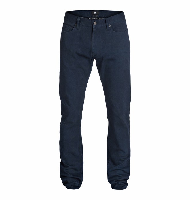"0 Wkr Elevated Color Slim 34"" Inseam Jeans  EDYDP03113 DC Shoes"