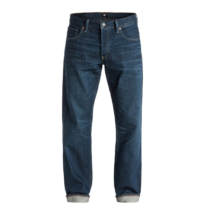 """0 Washed Roomy Fit Good Worn 34"""" - Jean large  EDYDP03173 DC Shoes"""