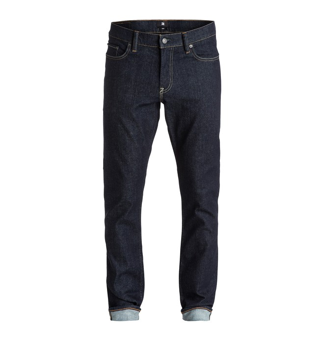 "0 Worker Slim Fit Indigo Rinse 34"" - Vaqueros  EDYDP03177 DC Shoes"