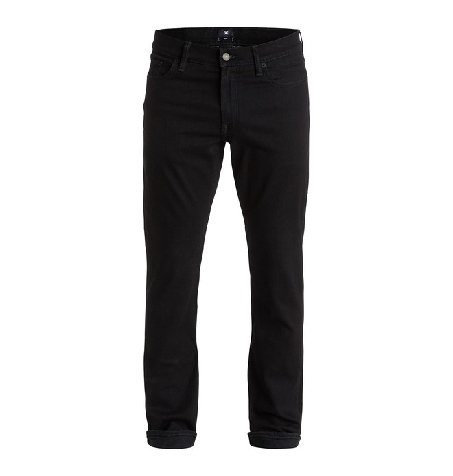 "0 Worker Slim Fit Black Rinse 32"" - Jean slim  EDYDP03178 DC Shoes"