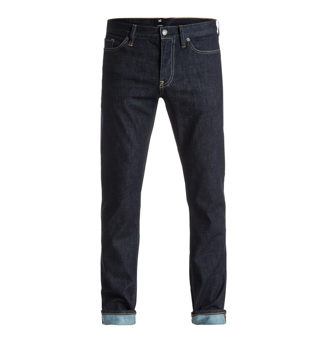 "0 Men's Worker Straight Fit 32"" Jeans  EDYDP03218 DC Shoes"