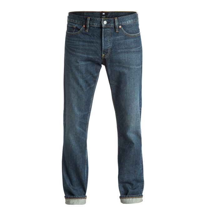 0 Washed Dark Stone Rigid - Jean coupe droite  EDYDP03266 DC Shoes