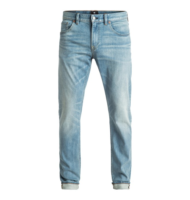 0 Washed Light Indigo Bleach - Jean skinny  EDYDP03288 DC Shoes