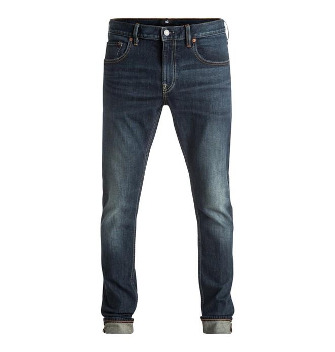 0 Washed Medium Stone - Jean skinny  EDYDP03290 DC Shoes