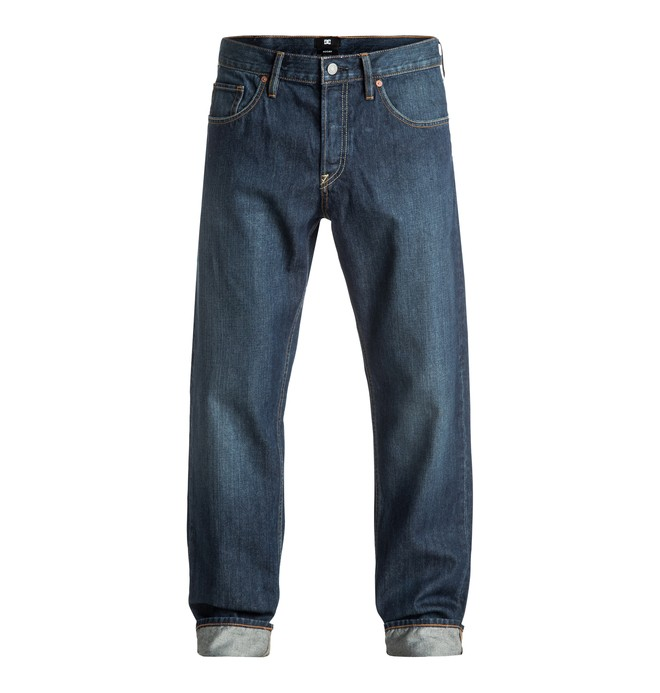 0 Men's Worker Roomy Stone Wash Roomy Fit Jeans  EDYDP03296 DC Shoes
