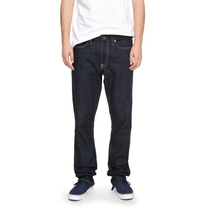 0 Worker Indigo Rinse - Straight Fit Jeans für Männer Blau EDYDP03324 DC Shoes