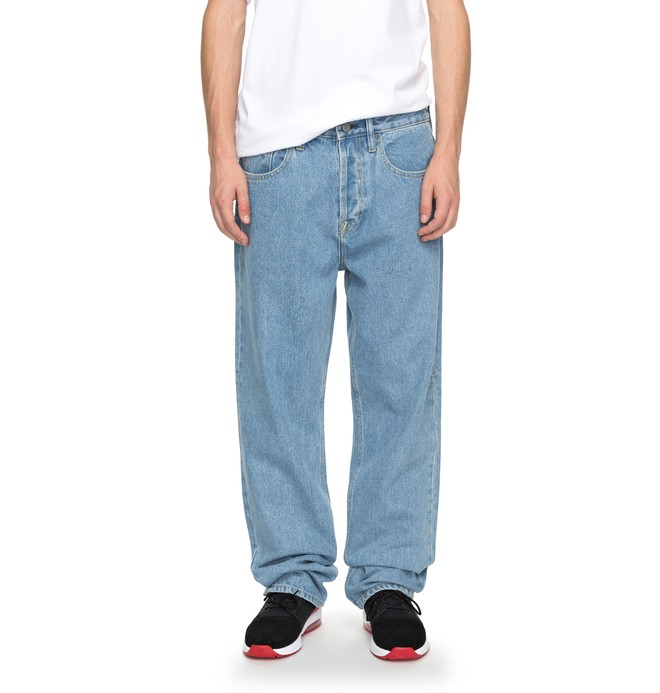 0 Men's Worker Relaxed Relaxed Fit Jeans Blue EDYDP03344 DC Shoes