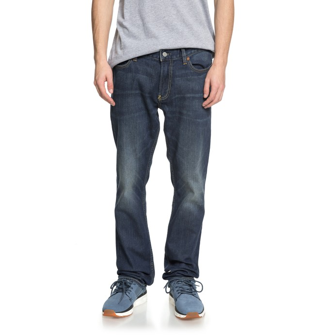 0 Worker Medium Stone Straight Fit Jeans  EDYDP03365 DC Shoes