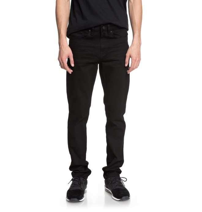 0 Worker Black Rinse - Jean slim Noir EDYDP03366 DC Shoes