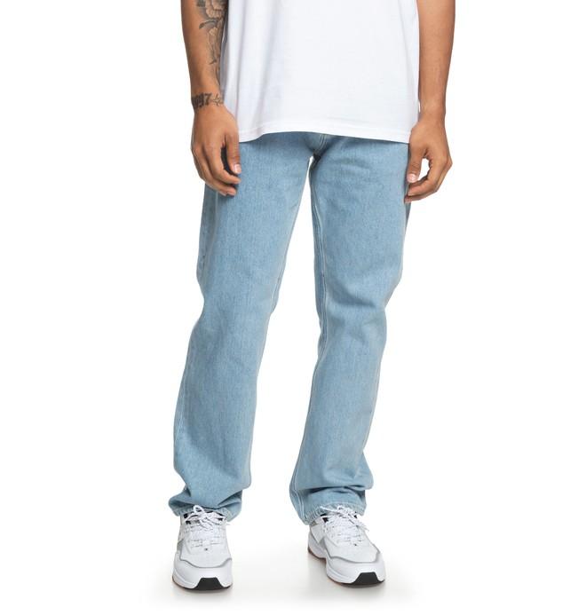 0 Worker - Jean ample pour Homme Bleu EDYDP03380 DC Shoes