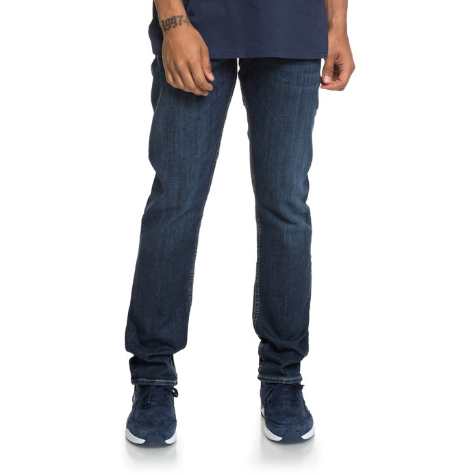 0 Worker Medium Stone - Straight Fit Jeans  EDYDP03388 DC Shoes