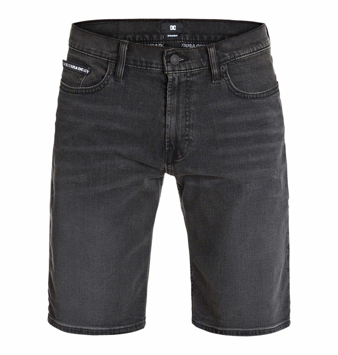0 Worker Straight Denim Shorts Black stone  EDYDS03002 DC Shoes