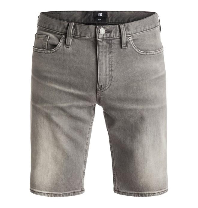 0 Washed Slim - Short denim  EDYDS03007 DC Shoes