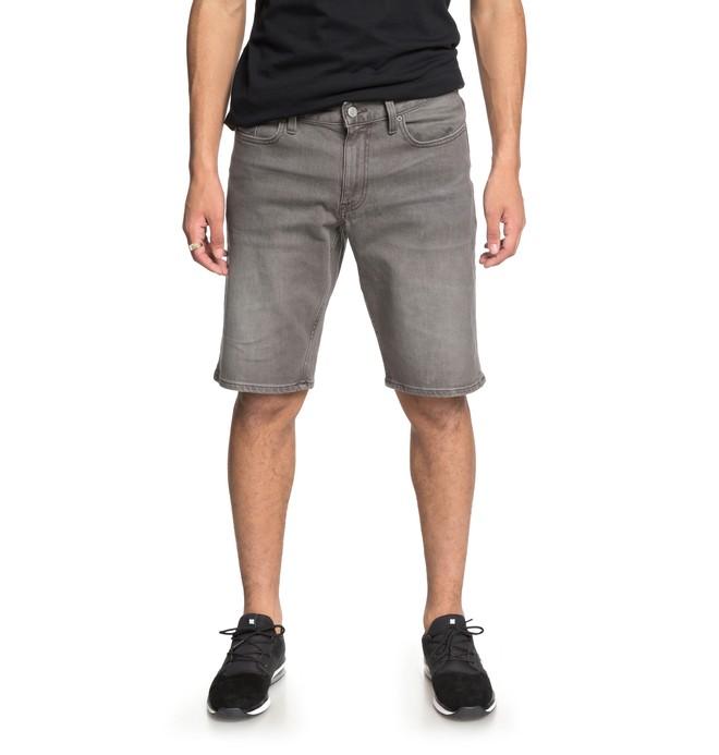 0 Worker - Denim Shorts for Men Grey EDYDS03031 DC Shoes