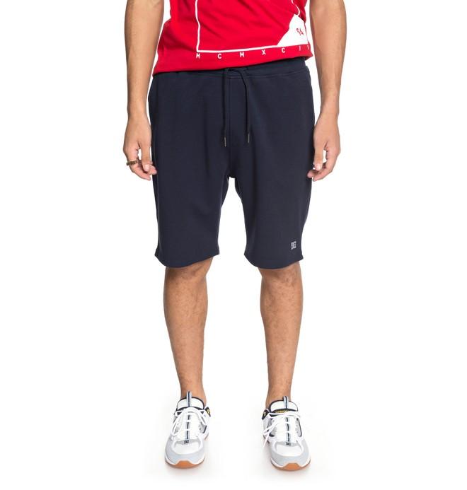0 Men's Glenties Sweat Shorts Blue EDYFB03045 DC Shoes