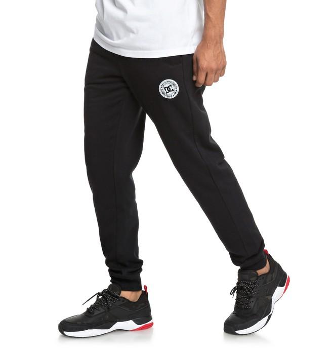 0 Rebel - Pantalón de chándal para Hombre Negro EDYFB03055 DC Shoes