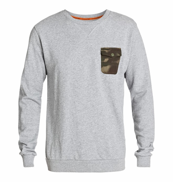 0 Men's Suburban Crew Sweatshirt  EDYFT03049 DC Shoes