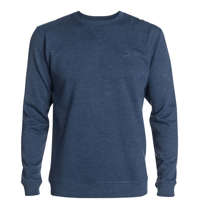0 Men's Rebel Crew Sweatshirt  EDYFT03072 DC Shoes