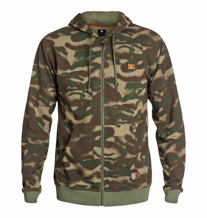 0 Men's Overseas Camo Sweatshirt  EDYFT03076 DC Shoes