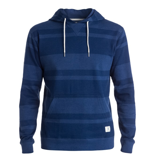 0 Men's Rebel Stripe Pullover Hoodie  EDYFT03101 DC Shoes
