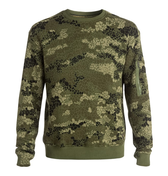 0 Men's Woodbrook Sweatshirt  EDYFT03104 DC Shoes