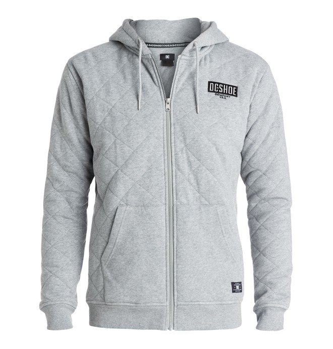 0 Men's Halibrent Zip-Up Hoodie  EDYFT03108 DC Shoes