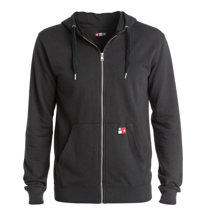 0 Men's Core Zip-Up Hoodie  EDYFT03116 DC Shoes