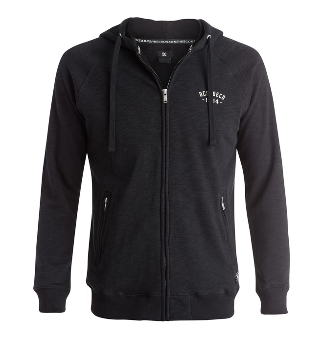 0 Men's Parkwood Zip-Up Hoodie  EDYFT03152 DC Shoes