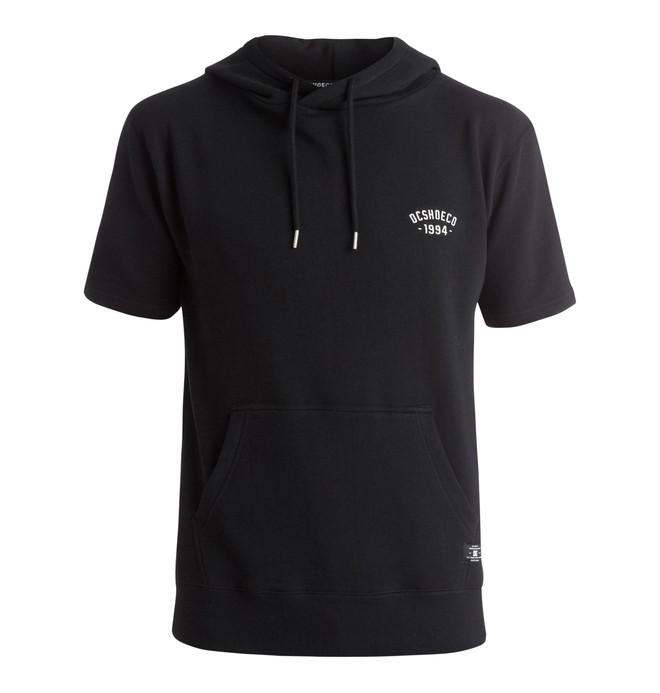 0 Dunlap - Sweat à capuche manches courtes  EDYFT03153 DC Shoes