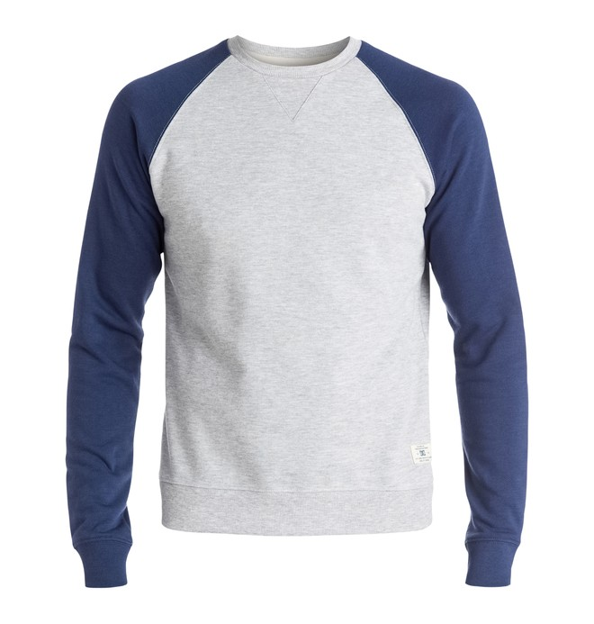 0 Men's Rebel Raglan Sweatshirt  EDYFT03185 DC Shoes