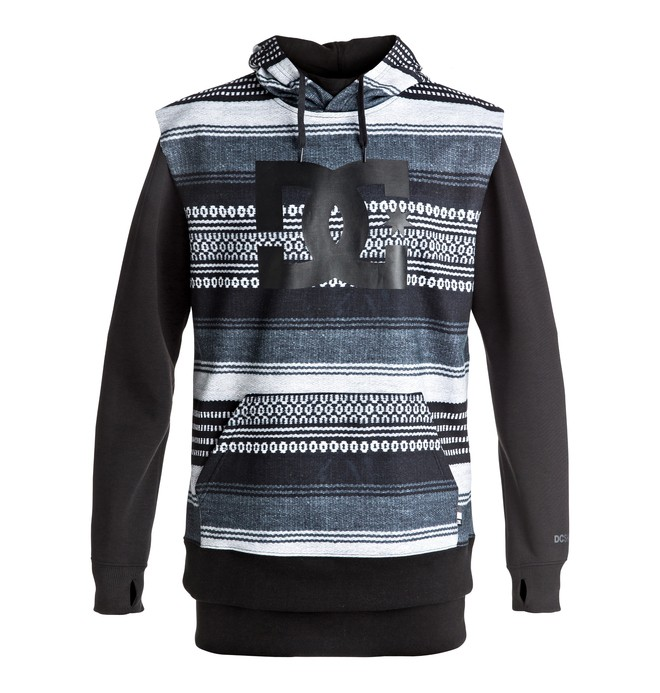 0 Dryden - Technical Hoodie Black EDYFT03286 DC Shoes