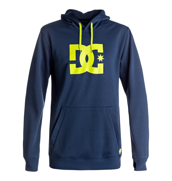 0 Snowstar - Technical Riding Hoodie for Men Blue EDYFT03288 DC Shoes
