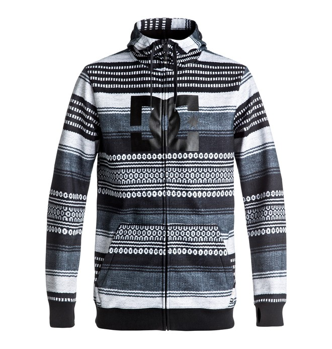 0 Snowstar - Zip-Up Technical Hoodie Black EDYFT03289 DC Shoes