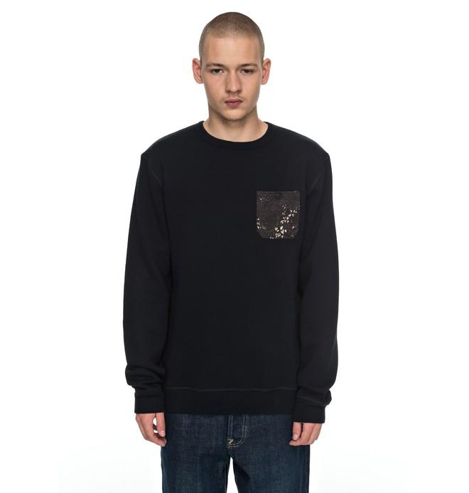0 Cappell - Sweatshirt Black EDYFT03304 DC Shoes